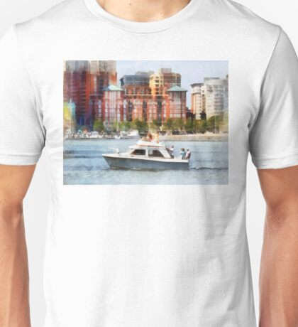 Maryland - Cabin Cruiser by Baltimore Skyline Unisex T-Shirt