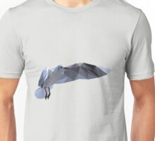 Low Poly Flying Seagull Unisex T-Shirt