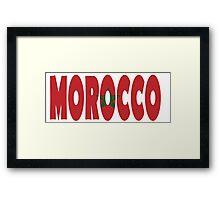 Morocco Framed Print