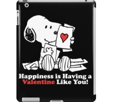 Happiness Is You iPad Case/Skin
