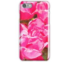 knockout roses iPhone Case/Skin