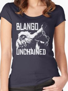 Monster Hunter Blango Unchained Design Women's Fitted Scoop T-Shirt
