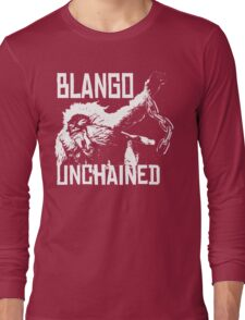 Monster Hunter Blango Unchained Design Long Sleeve T-Shirt