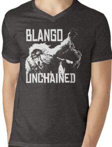 Monster Hunter Blango Unchained Design Mens V-Neck T-Shirt