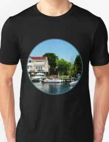 Cabin Cruisers on a Sunny Day Unisex T-Shirt