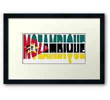 Mozambique Framed Print