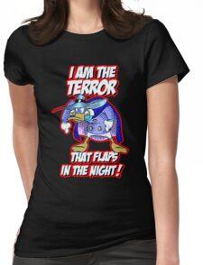 Darkwing Duck Night Terror Womens Fitted T-Shirt