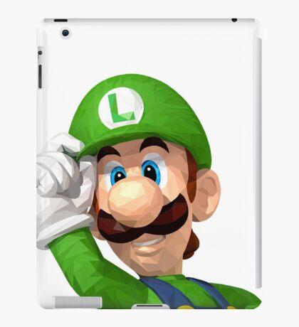 Poly Luigi iPad Case/Skin