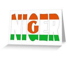 Niger Greeting Card