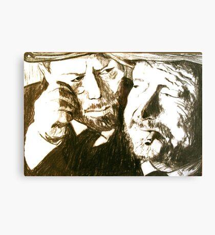 Vincent and Douglas Canvas Print