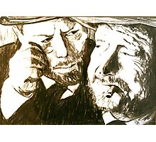 Vincent and Douglas Photographic Print