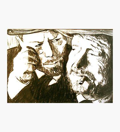 Vincent and Douglas Photographic Print