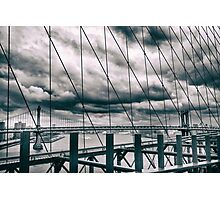 Brooklyn Bridge Views Photographic Print