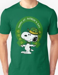 Snoopy Happy St Patricks Day T-Shirt