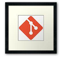 Git logo Framed Print