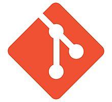Git logo Photographic Print