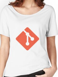 Git logo Women's Relaxed Fit T-Shirt