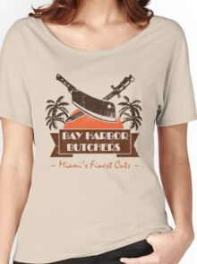dEXTER- bAY hARBOuR BUTCHER Women's Relaxed Fit T-Shirt