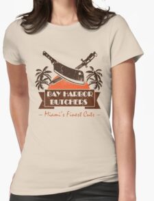 dEXTER- bAY hARBOuR BUTCHER Womens Fitted T-Shirt