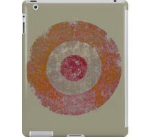 Old Mod Roundel iPad Case/Skin