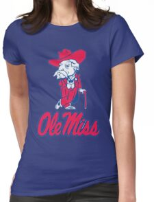 Ole Miss Mississippi Womens Fitted T-Shirt