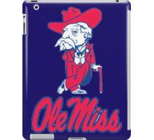 Ole Miss Mississippi iPad Case/Skin