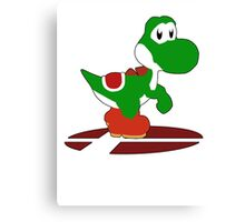 Yoshi - Super Smash Bros Melee Canvas Print