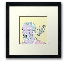 Hotline Blink Framed Print