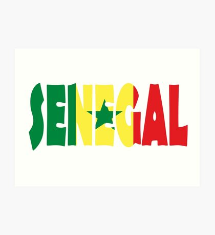 Senegal Art Print