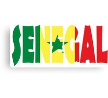 Senegal Canvas Print