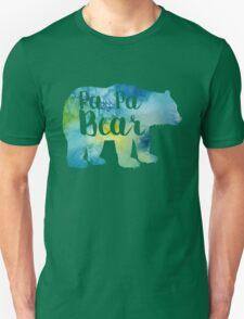 PAPA BEAR watercolor Unisex T-Shirt