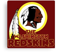 Washington Redskin Canvas Print