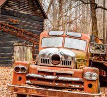 Where Do Old Fire Trucks Go To Die? Sticker