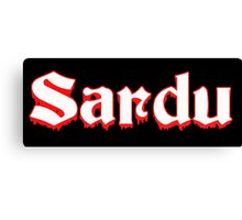 Sardu! Canvas Print
