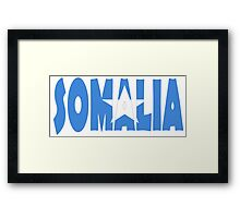 Somalia Framed Print