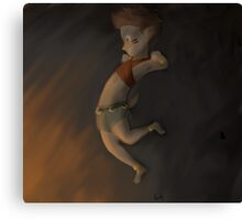 Goodbye boy of the Lonely Fire Canvas Print