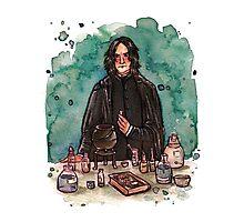 Severus Snape, potions master Photographic Print