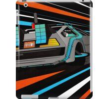 Delorean Time Flux - Orange iPad Case/Skin