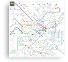 London tube map Canvas Print