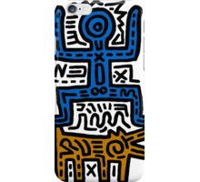 HARING - COUPLE for Men(Family) iPhone Case/Skin
