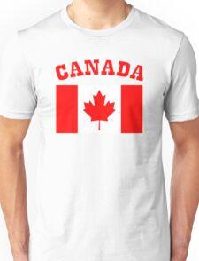 Patriotic I Am Canadian Maple leaf Canada Flag Unisex T-Shirt