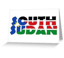South Sudan Greeting Card
