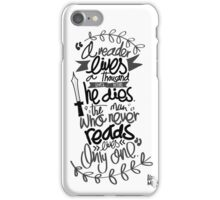 A song of ice and fire - Quote iPhone Case/Skin