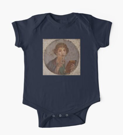 Souvenir from Pompeii - Saffo is thinking One Piece - Short Sleeve
