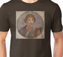 Souvenir from Pompeii - Saffo is thinking Unisex T-Shirt