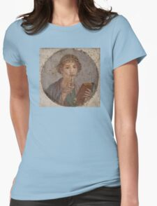 Souvenir from Pompeii - Saffo is thinking Womens Fitted T-Shirt