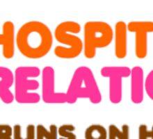 HR- Dunkin Donuts Sticker