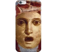 Souvenir from Pompeii - Theatre Mask iPhone Case/Skin