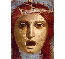 Souvenir from Pompeii - Theatre Mask Photographic Print