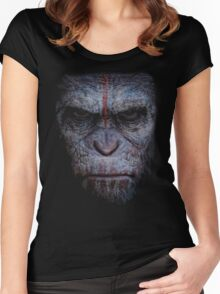 dawn of the planet of the apes Women's Fitted Scoop T-Shirt